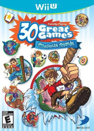 Family Party: 30 Great Games Obstacle Arcade - Image: Family Party 30 Great Games Obstacle Arcade cover art