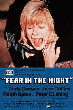 Fear in the Night (1972 film) - Theatrical release poster