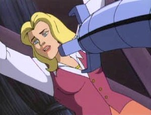 Black Cat (comics) - Felicia Hardy in Spider-Man: The Animated Series.