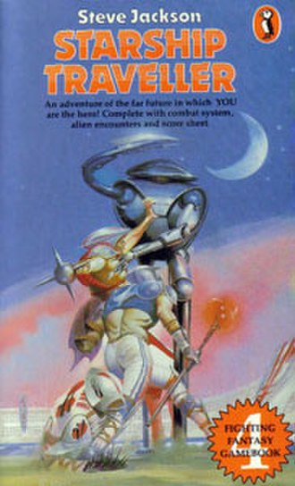 Starship Traveller - Original Puffin Books cover (1984)