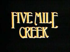 Five Mile Creek - Image: Five Mile Creek