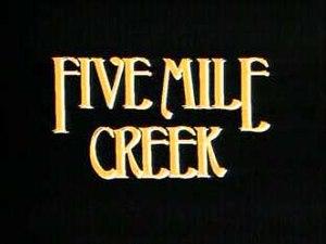 Five Mile Creek - Image: Five Mile Creek