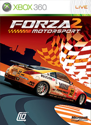 Forza Motorsport 2 - Image: Forzamotorsport 2cover