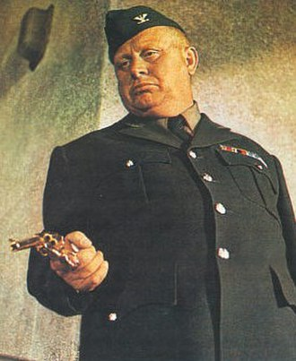 "Auric Goldfinger - Goldfinger during ""Operation Grand Slam""."