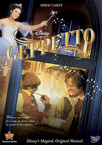 Geppetto (film) - DVD cover for Geppetto