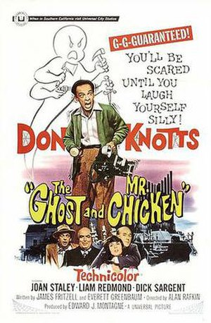 The Ghost and Mr. Chicken - Theatrical release poster