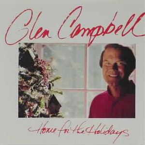 Home for the Holidays (Glen Campbell album) - Image: Glen Campbell Home for the Holidays album cover