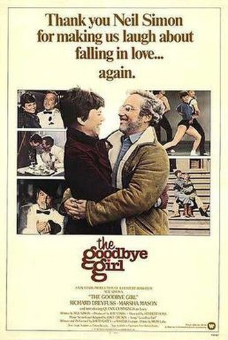 The Goodbye Girl - Theatrical release poster