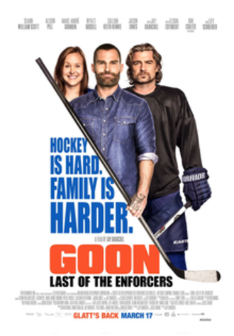 Goon: Last of the Enforcers - Theatrical release poster