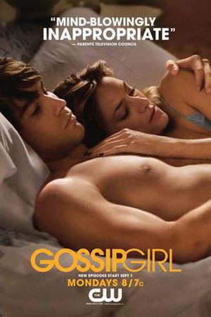 Gossip Girl - Gossip Girl poster featuring critical review
