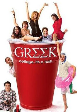Greek (TV series) - Promotional poster for the series