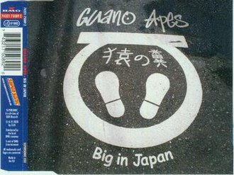 Big in Japan (Alphaville song) - Image: Guano apes big in japan singlecover