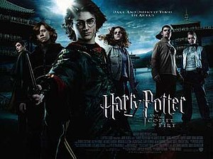 Harry Potter and the Goblet of Fire (film) - Theatrical release poster