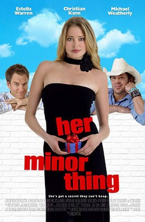 Her Minor Thing - Film poster