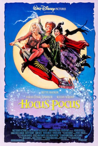 Hocus Pocus (1993 film) - Theatrical release poster by Drew Struzan