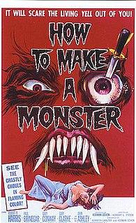 <i>How to Make a Monster</i> (1958 film) 1959 film by Herbert L. Strock