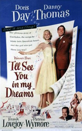I'll See You in My Dreams (1951 film) - Theatrical release poster