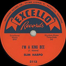 I'm a King Bee single cover.jpg