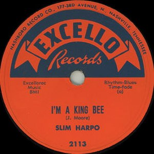 I'm a King Bee - Image: I'm a King Bee single cover