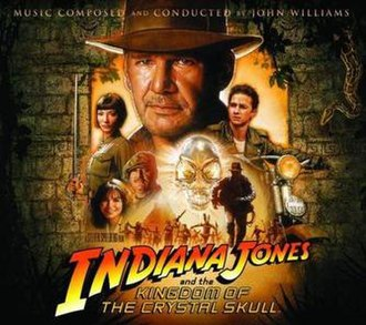 Indiana Jones and the Kingdom of the Crystal Skull (soundtrack) - Image: Indiana Jones And The Kingdom Of The Chrystal Skull Soundtrack 2008