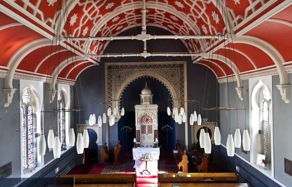 Interior of Bradford Reform Synagogue