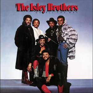 Go All the Way (The Isley Brothers album) - Image: Isley brothers Go all the way album
