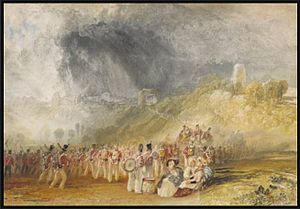 Strand House, The Strand, Winchelsea - Winchelsea, Sussex, Soldiers on the March c.1828