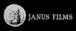Janus Films logo from Seven Samurai 1956
