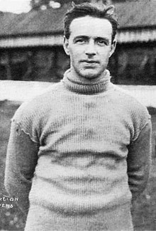 Black and white photograph of Jimmy Moreton