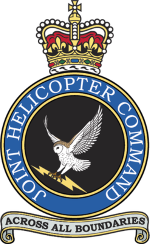 Joint Helicopter Command - Image: Joint helicopter command badge