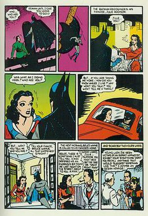 Julie Madison - Julie Madison as seen in the early days of the Batman comic books.
