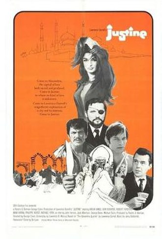 Justine (1969 film) - Theatrical release poster