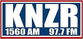 KNZR-FM Radio station in Shafter, California