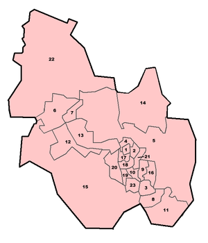 Kettering Borough Council Ward Map