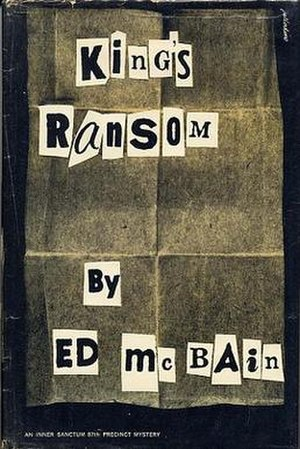 King's Ransom (novel) - First edition (publ. Simon & Schuster)