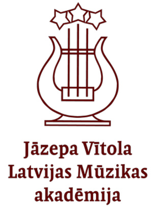 Jāzeps Vītols Latvian Academy of Music - Image: Latvian Academy of Music logo