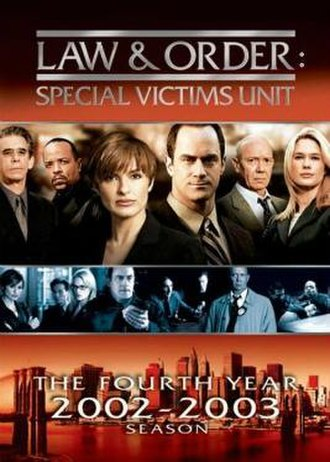 Law & Order: Special Victims Unit (season 4) - Season 4 U.S. DVD cover