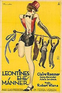<i>Leontines Husbands</i> 1928 film by Robert Wiene