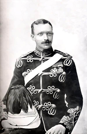 Charles James William Grant - Image: Lieutenant CJW Grant, VC, 1891. Commanded 89th and 92nd Punjabis