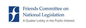 Friends Committee on National Legislation - Image: Logo for FCNL