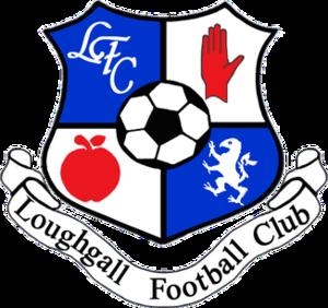 Loughgall F.C. - Image: Loughgall Football Club badge