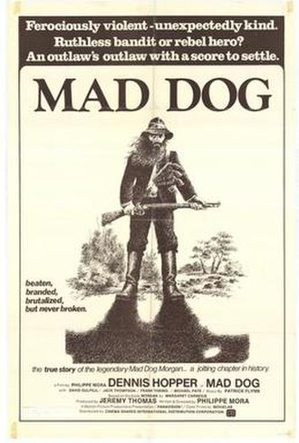 Mad Dog Morgan - Theatrical film poster
