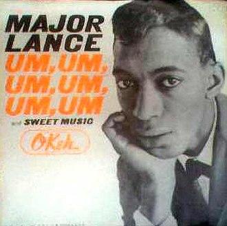Um, Um, Um, Um, Um, Um - Image: Major Lance Um