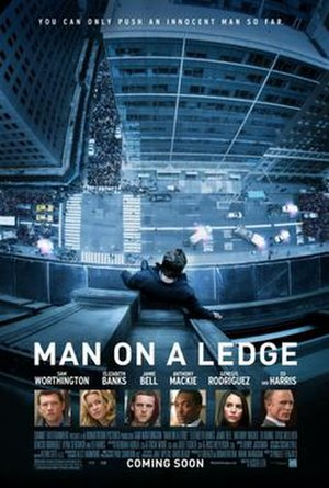 Man on a Ledge - Theatrical release poster