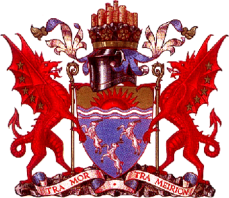 Meirionnydd - Arms of Meirionnydd District Council