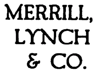 Merrill Lynch - Merrill Lynch logo c. 1917
