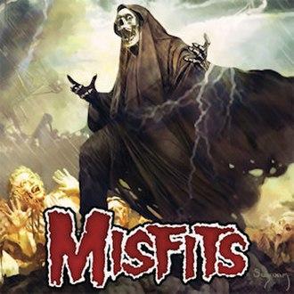 The Devil's Rain (album) - Image: Misfits The Devil's Rain cover