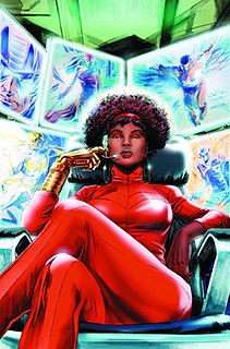 Misty Knight Marvel comics character