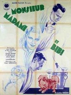 <i>Monsieur, Madame and Bibi</i> 1932 film