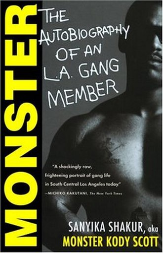 Monster: The Autobiography of an L.A. Gang Member - Cover of the first edition.